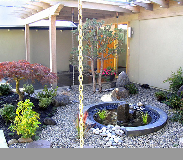 Zen gardens projects japanese landscape design vancouver for Indoor japanese garden